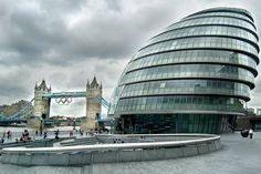 More London, the Scoop & Tower Bridge.