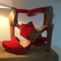 Dolce Vita Heeled Sandal Wear this for a statement year around. This color will fab up any outfit. Dolce Vita Shoes Heels