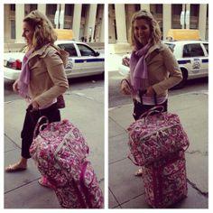 Travel in Vera Bradley style | Paisley Meets Plaid