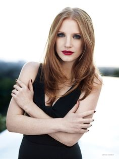 Jessica Chastain Charms in Photo Shoot for YSL Manifesto LEclat Eau De Toilette