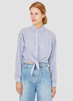 Salamina Tie Front Shirt