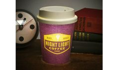 This Latte Light looks like a real takeaway coffee. Use it as a mood light or as a night light. You can even have it on your desk just to make it that bit cosier. | NUKU | Requires 3 x AAA batteries. #nightslamplover #nightlamps #desklamps #bedroomstuff