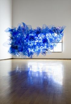 //spencer finch installation I've found my new favourite artist.