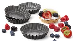 Set of 4 Tartlet Pans