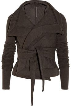 Rick Owens LILIES quilted jersey jacket | NET-A-PORTER