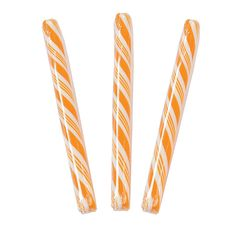 Orange Candy Sticks - OrientalTrading.com