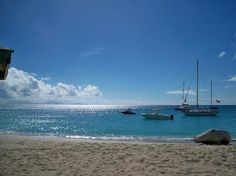 Antigua sailing with Miramar.
