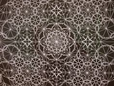 An example of geometric art from the British Museum. Taken from: http://images.mitrasites.com/islamic-art.html