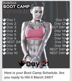 Here is your Boot Camp Schedule. Are you ready to Hiit it March ? (The workouts will be available EST) Irby This is the 21 days challenge schedule Fitness Motivation, Fitness Diet, Health Fitness, Fitness Weightloss, 21 Day Challenge, Workout Challenge, Workout Schedule, Boot Camp, Body Rock Workout