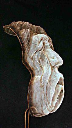 Iron sculpture ¨Agonía