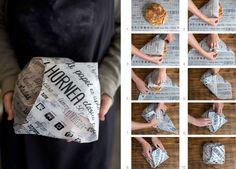 Brand identity and eco-packaging design for bakery products. Gourmet Sandwiches, Sandwich Bar, Party Sandwiches, Wrap Sandwiches, Panini Sandwiches, Breakfast Sandwiches, Brownie Packaging, Sandwich Packaging, Dessert Packaging