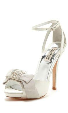 Embellished Bow Heels ღ