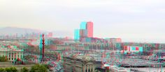 https://flic.kr/p/s21HjE | View Barcelona 3D | anaglyph stereo red/cyan