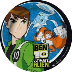 PIATTI FESTA TEMA BEN 10 PARTY 22,9CM 8PZ