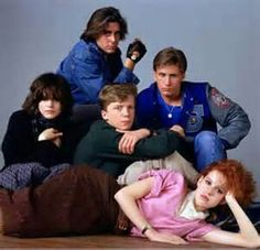 """The Breakfast Club"" Great 80's movie"