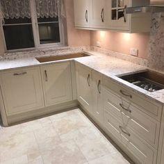 Bianco Foresta - Urban Quartz Grandeur - Rock and Co Granite Ltd Unique Colors, Granite, Kitchen Cabinets, Urban, Home Decor, Decoration Home, Room Decor, Kitchen Base Cabinets, Dressers