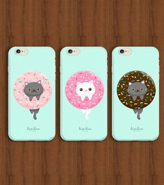 Donut CatCat iPhone CaseDonut iPhone CaseiPhone 6 от kiwihen