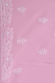 Basic Embroidery Stitches, Floral Embroidery Patterns, Hand Embroidery Videos, Embroidery Suits Design, Border Embroidery, Embroidery Alphabet, Embroidery Flowers Pattern, Embroidery Motifs, Indian Embroidery