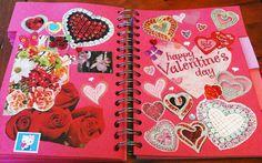 Valentine's Day Smash Book