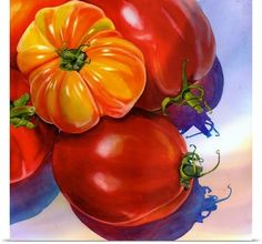 Terri Hill is a watercolor artist from Northern California. Her realistic watercolor paintings of fruits, still life and vegetables are so natural. Watercolor Fruit, Watercolor Paintings, Watercolors, Acrylic Paintings, Oil Paintings, Canvas Art, Canvas Prints, Art Prints, Fruit Painting
