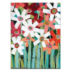 Found it at AllModern - Springtime by Anna Blatman Painting Print on Canvas