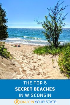 You'll love these pretty, peaceful, secluded beaches in Wisconsin! You can hike, bike, or even take ferries to access them. Vacation Places, Vacation Spots, Places To Travel, Places To See, Vacation Ideas, Travel Destinations, Family Vacations, Wisconsin Vacation, Michigan Travel