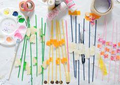 Babiekins Magazine | Craftykins // DIY Pick Up Sticks