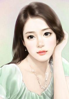 paintings of beautiful woomen from Asian countries Female Drawing, Female Art, Art Chinois, Art Manga, Art Asiatique, Painting Of Girl, China Girl, Digital Art Girl, Beautiful Anime Girl