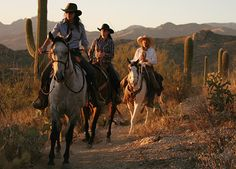 Tanque Verde Ranch - horse back riding