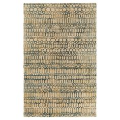 Abin Affinity Area Rug - Light Grey, Cream - (8' x 10') - Surya, Light Gray