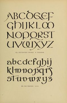 Alphabets old and new, for the use of craftsmen Hand Lettering Alphabet, Doodle Lettering, Creative Lettering, Lettering Styles, Graffiti Lettering, Lettering Design, Alphabet Letters, Preschool Alphabet, Letter Tracing