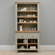 White Kitchen Dresser westbury painted kitchen dresser | kitchen dresser, furniture and