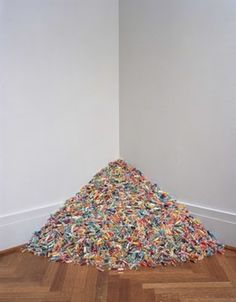 Find the latest shows, biography, and artworks for sale by Felix Gonzalez-Torres. Drawing from the traditions of Minimalism and Conceptual Art, Felix Gonzale… Felix Gonzalez Torres, Candy Images, Christo And Jeanne Claude, Ephemeral Art, Damien Hirst, Art For Art Sake, Conceptual Art, Art Fair, Installation Art