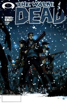Capa da Edição #5 de The Walking Dead