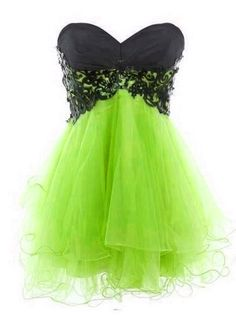 Fantastic Lace Ball Gown Charming Mini Prom Dress/Homecoming Dresses#girl#love