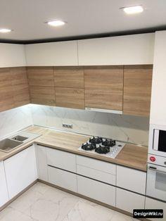 Simple Kitchen Design, Kitchen Pantry Design, Best Kitchen Designs, Kitchen Layout, Home Decor Kitchen, Interior Design Kitchen, Small Modern Kitchens, Modern Kitchen Interiors, Kitchen Modular