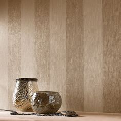 Glitterati Cream / Gold Wallpaper by Graham and Brown - dining room