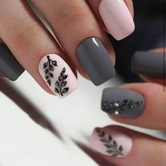 Most Sexy and Trendy Prom and Wedding Acrylic Nails and Matte Nails for this Season - Amately Elegant Nail Designs, Elegant Nails, Toe Nail Designs, Acrylic Nail Designs, Glittery Nails, Matte Nails, Nails Polish, Silver Glitter, Nail Art Inspiration