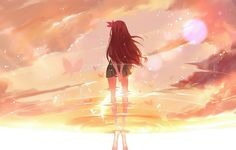 joseph lee, reflection, art, anime, kantai collection ...