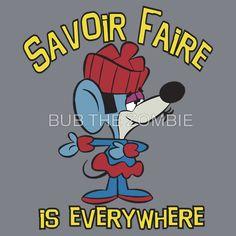 Savoir Faire from Klondike Kat. Used to watch this cartoon as a little kid Classic Cartoon Characters, Cartoon Tv, Vintage Cartoon, Cartoon Shows, Funny Vintage, Cartoon Crazy, Vintage Toys, Old School Cartoons, Retro Cartoons