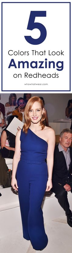 The best colors for redheads to shop