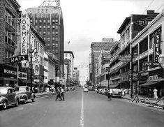 Main Street, Memphis, TN    1955 - Don Newman