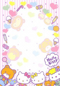 "Sanrio Hello Kitty ""Decorative Stickers"" Memo   crazysugarbunny   Flickr"