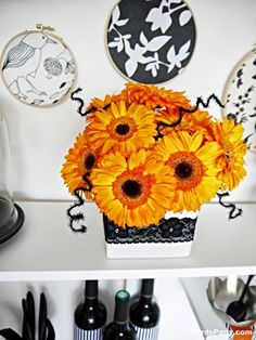 Pin for Later: How to Style a Halloween Cheese and Wine Party The Ghoulish DIY Decor
