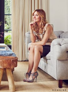 Before and After: Actress Sasha Alexander's European-Inspired L.A. Home via @domainehome