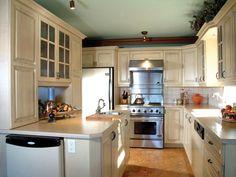 Lovely Kitchen   plan 032D-0609   houseplansandmore.com #counter #kitchen #white