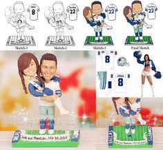 Dallas Cowboys Wedding Groom S Cake Our Wedding
