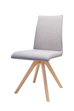 S61 chair designed by Klose. 4 options of stitching through backrest. #chair #KloseFurniture