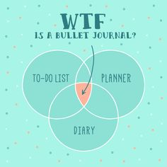 "Is it a to-do list or a planner or a diary? I love her explanation, it combines realistic (""It's a damn notebook"") with admiration (""I'm low-key obsessed"") to make this sound easy, awesome, and worth it to try."