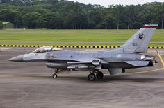 Republic of Singapore Air Force Lockheed-Martin F-16C Block 52 Fighting Falcon